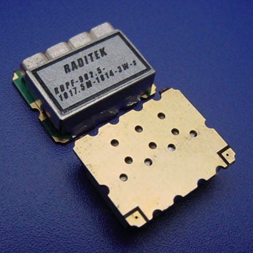 Saw Filter, Surface mount, GSM