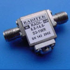 Coaxial Isolator 5.8-14.5GHz
