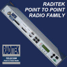 7GHz licensed band, Point to Point Radio