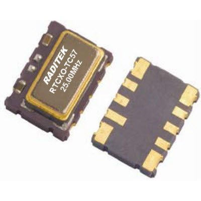 Temperature compensated Crystal Oscillators (TCXO)