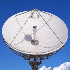 Earth Station Antenna, 6.2 Meters