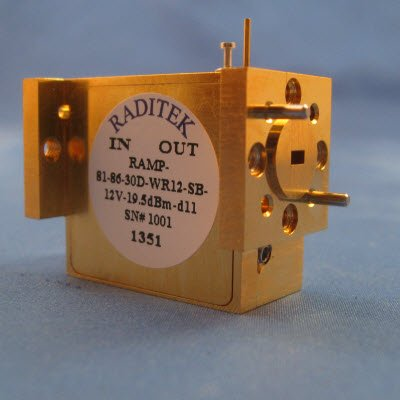 Waveguide Amplifier Modules