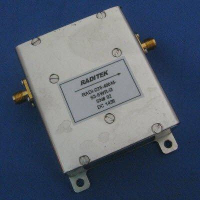 Wide Band UHF Isolators