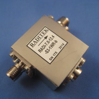 Wide Band Coaxial Isolators