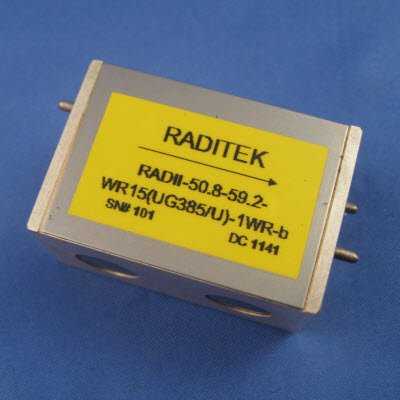 Double Junction Waveguide Isolator